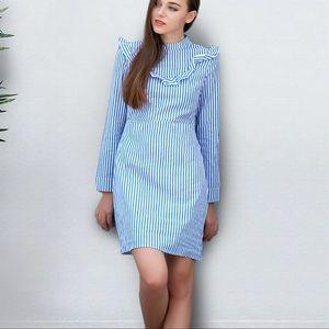 Ruffled striped Cute Dress!